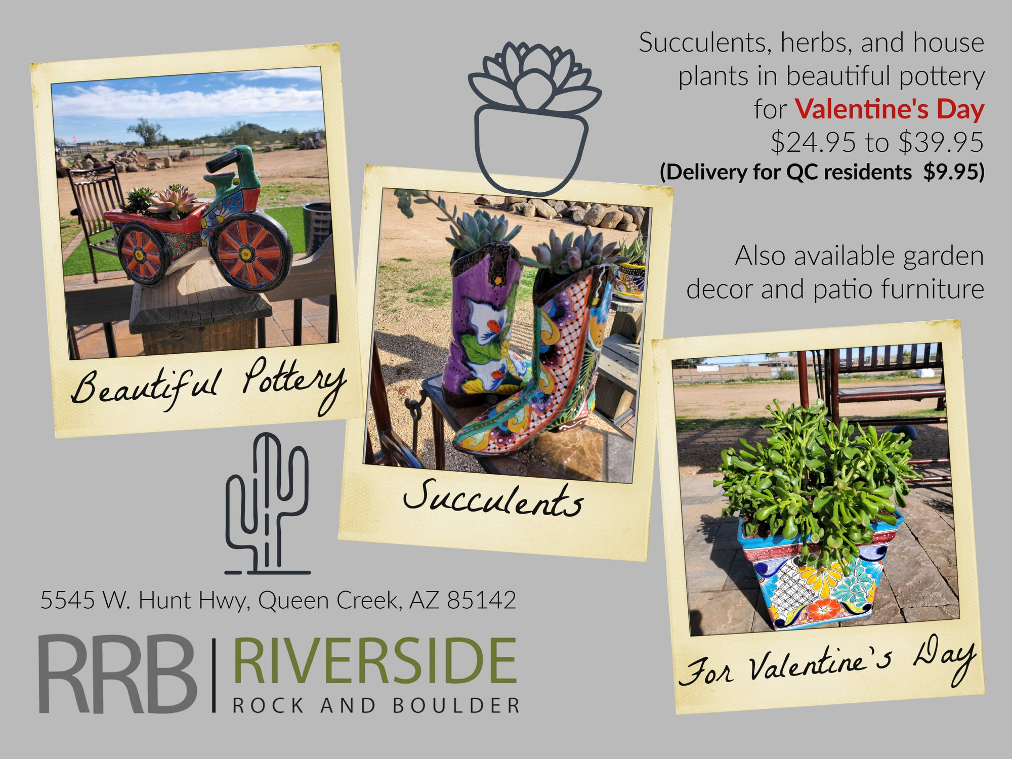 Plant delivery in Queen Creek